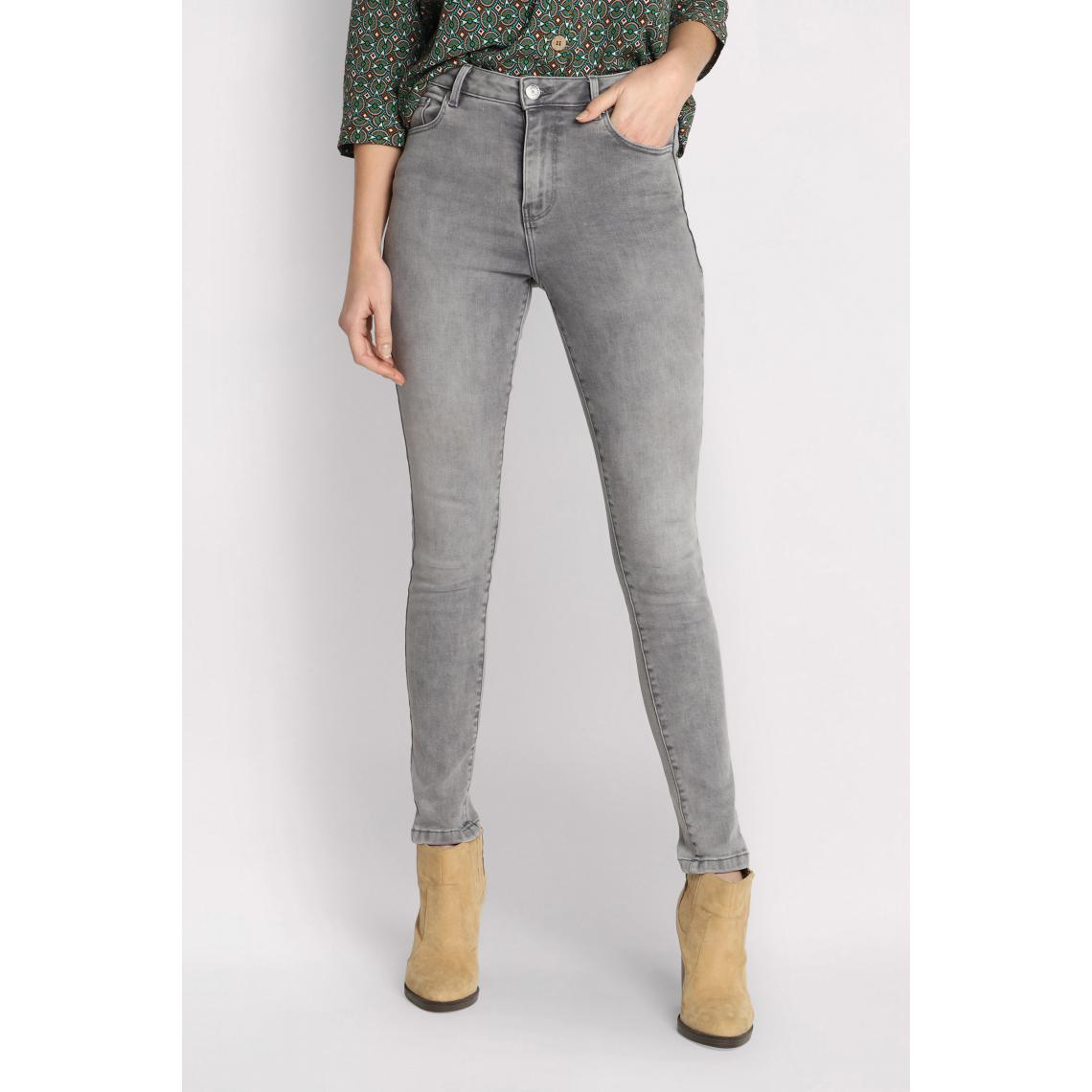Jeans skinny 5 poches - Cache cache - Modalova