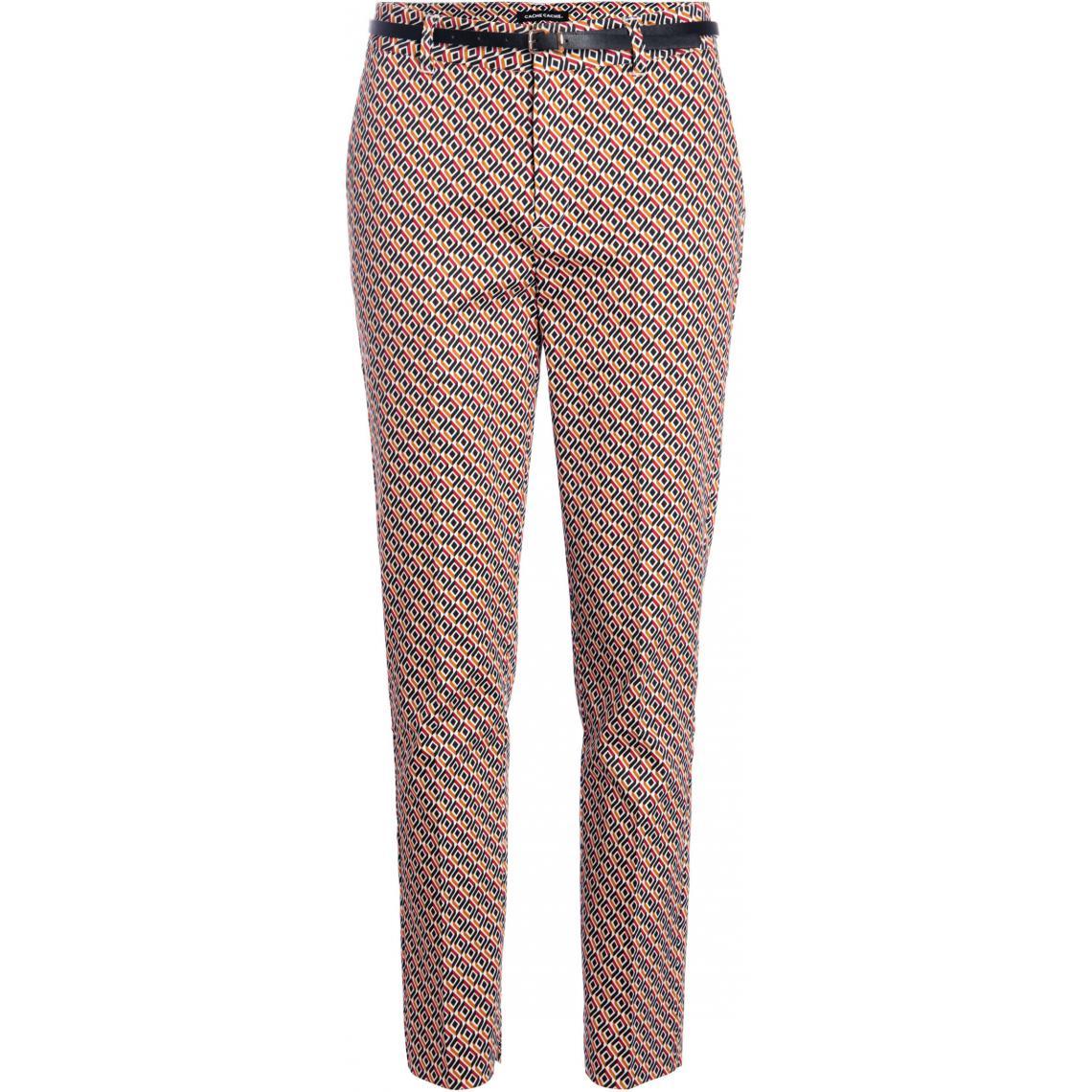Pantalon 7\/8ème à ceinture vB9Cv