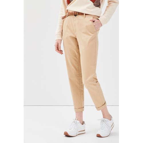 Sheego Corsaire 3//4 Pantalon sommerhose Schlupfhose Slim Femmes Blanc plusgröße