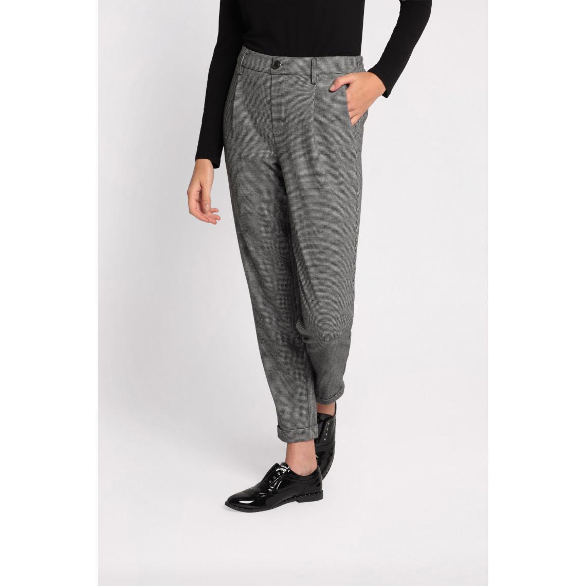Pantalon chino slim à ourlets - Cache cache - Modalova