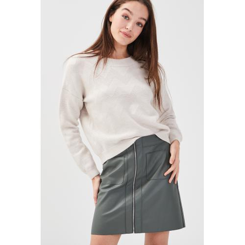 Cache cache - Pull ample col rond - C 6254397 pulls col rond femme.htm