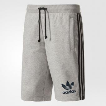 Adidas Originals - Short de sport long Adidas Originals homme - Gris - Vêtement de sport