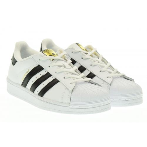 Adidas Originals - adidas Originals Superstar blanc/noir - Mode fille