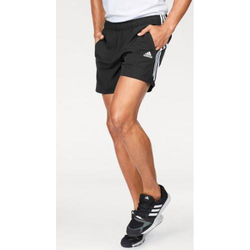 Adidas Performance - Short de sport Adidas Performance homme - Noir - Promos vêtements homme