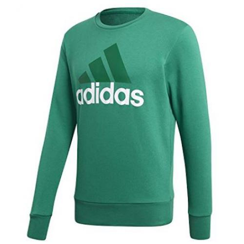 d16ffb1b0 Sweat col rond manches longues homme Essentials Big Logo adidas Performance
