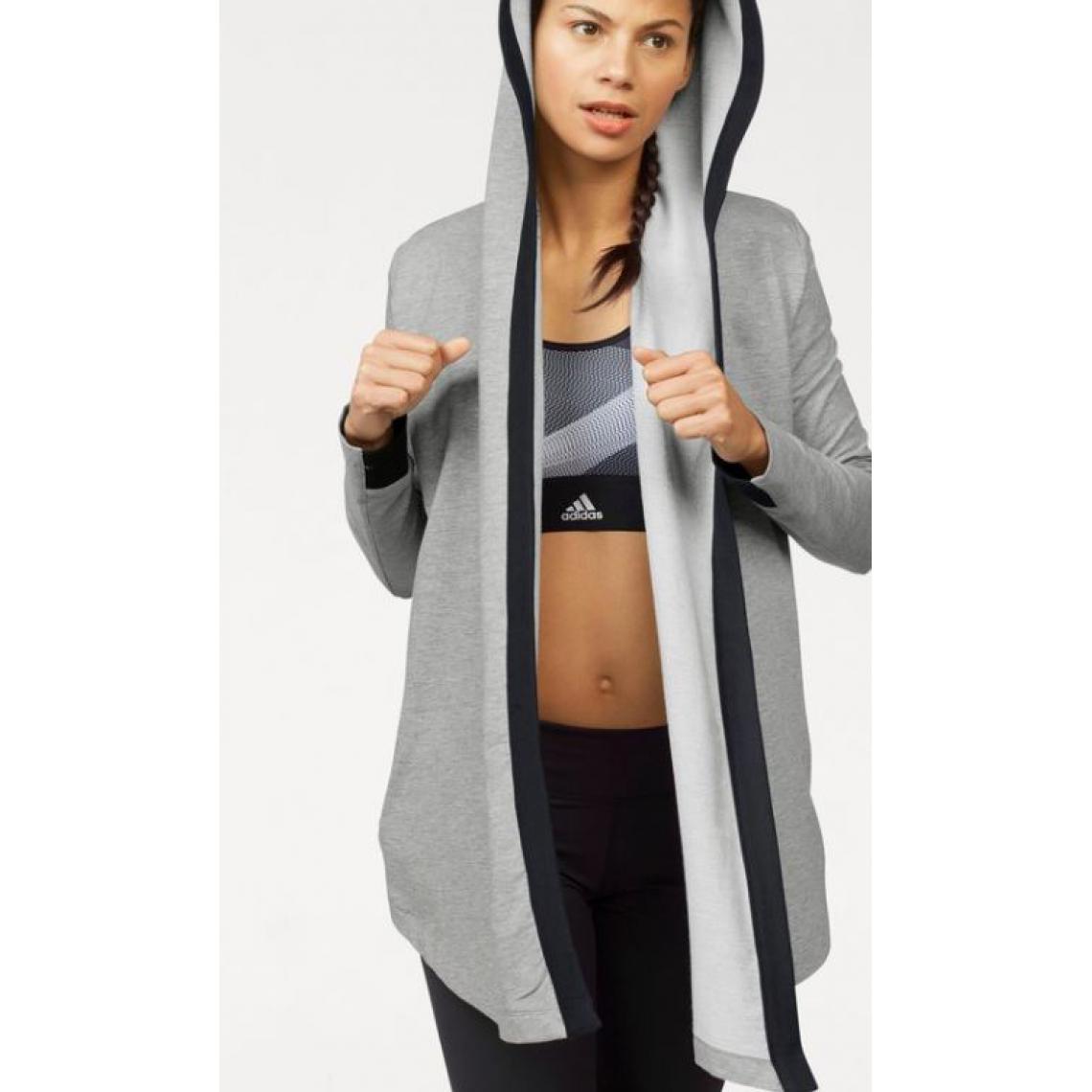 Veste longue à capuche femme Wrap me up cover