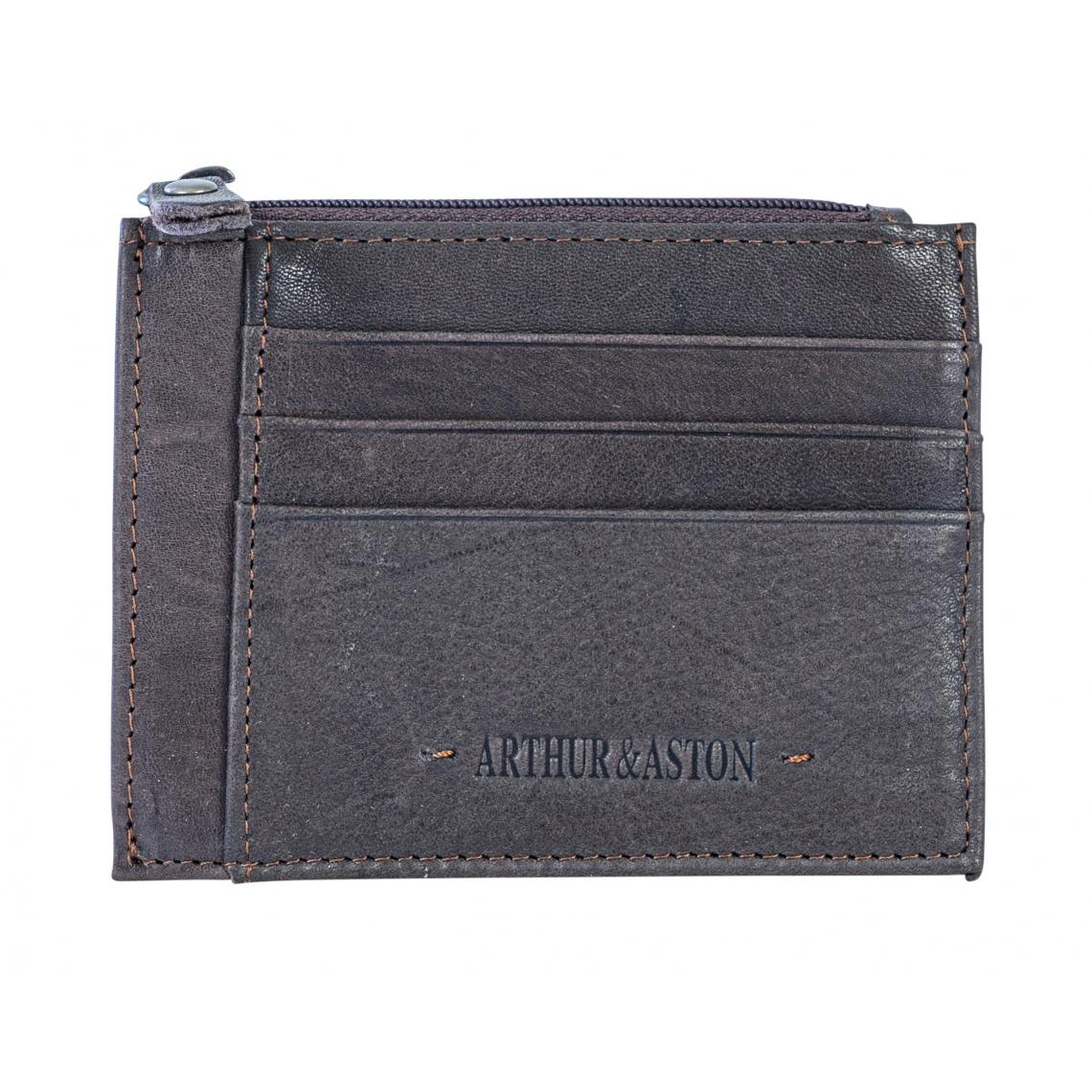 Porte Monnaie et Carte Châtaigne - Arthur & Aston - Modalova