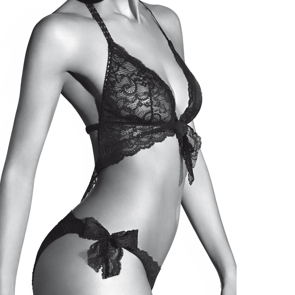 Trikini sexy noir - 3 suisses - Modalova