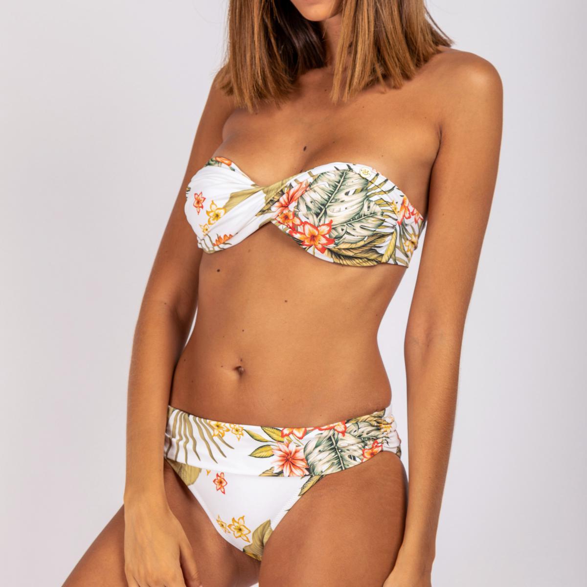 Haut de maillot de bain bandeau sans armatures - Banana Moon - Modalova