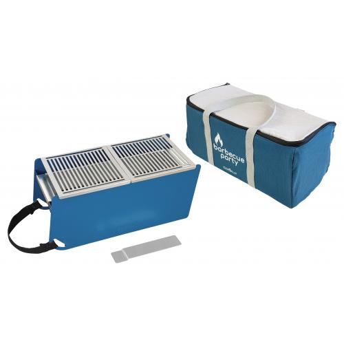 Cookut - Barbecue Nomade Bleu WILLY