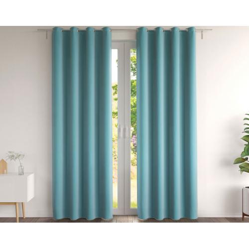 deux pi/èces DHDHWL Rideaux S/éjour Moth N/écromancien Rideaux gothique Cr/âne Blackout Chambre rideau papillon bleu rideau Color : Blue, Size : W100xH130cm #K