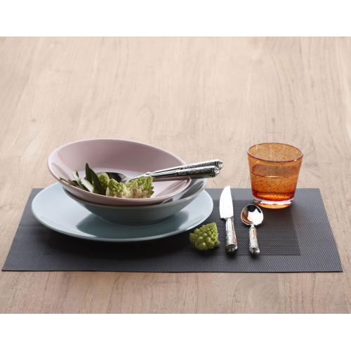 Becquet - Set de table rectangulaires unis Becquet - Gris - Linge de maison