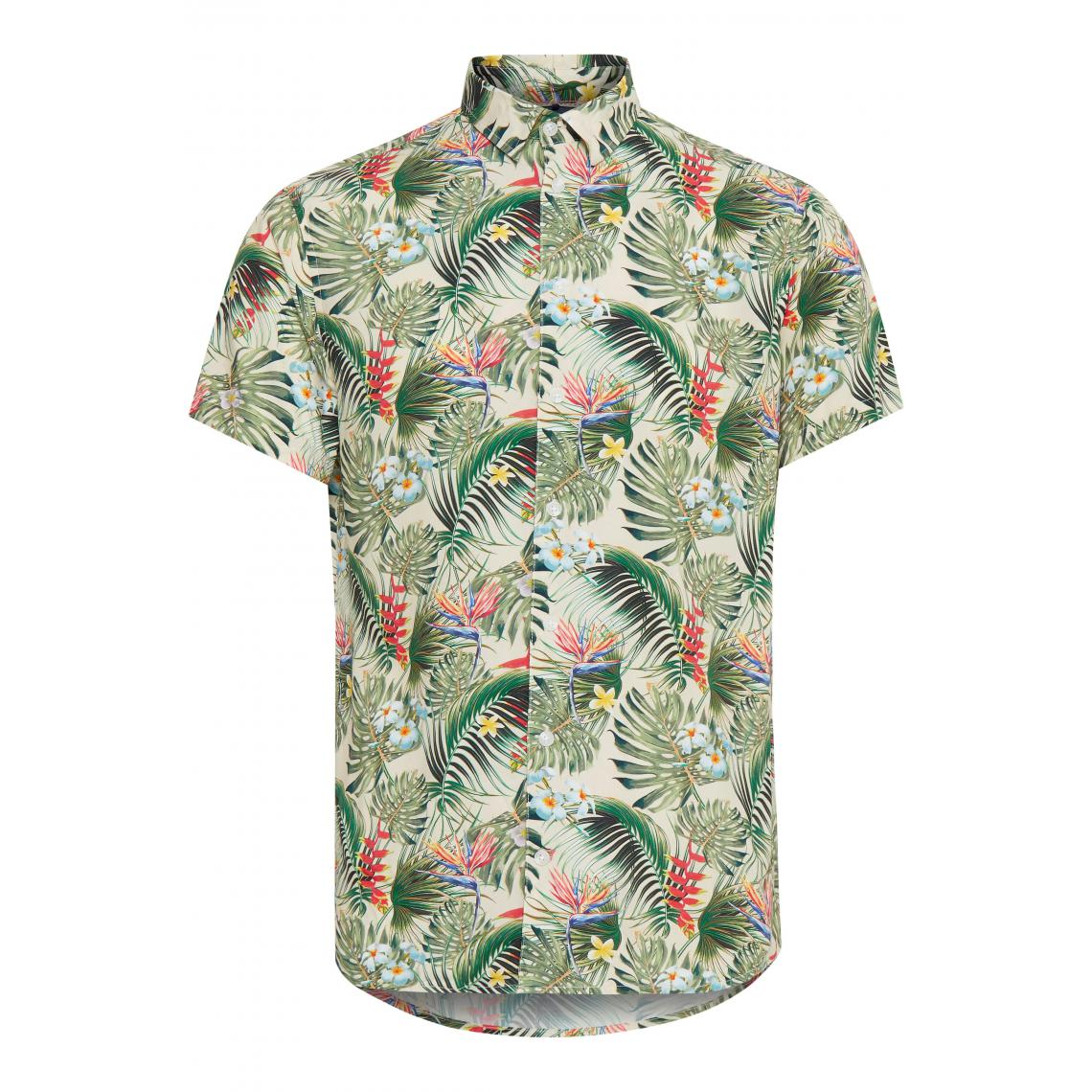 Chemise manches courtes hawaïenne