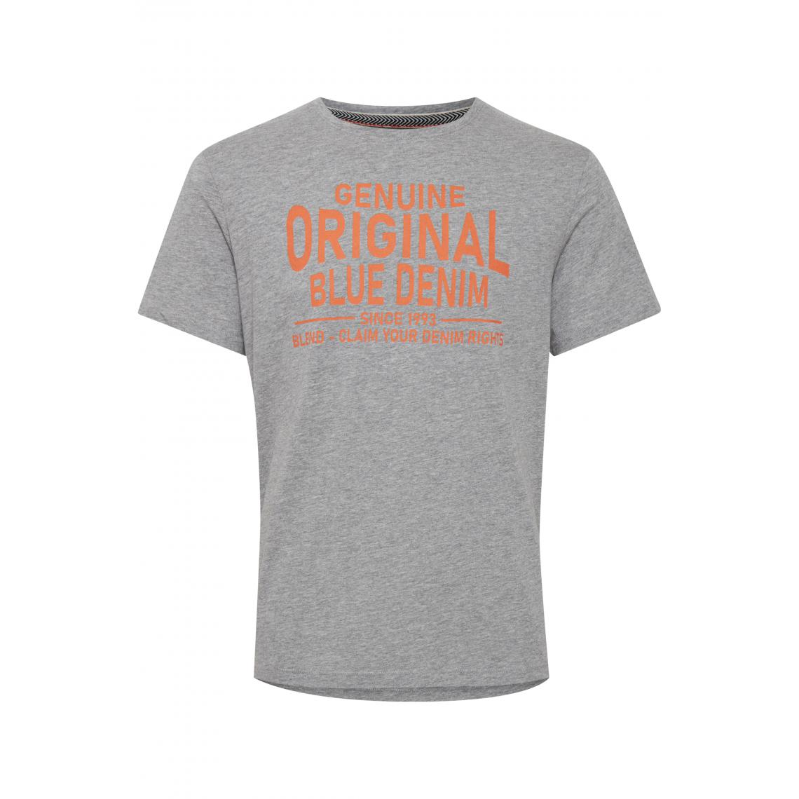 Tee-shirt imprimé tout en coton - Blend - Modalova