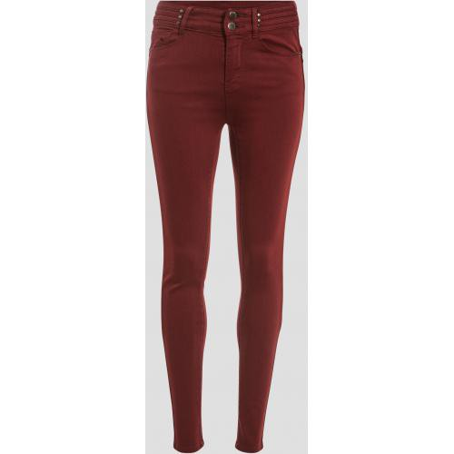 Cache cache - Jeans skinny - Vetements femme violet
