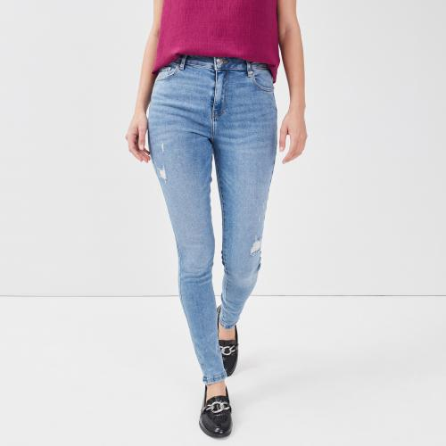 Cache cache - Jeans skinny 5 poches - Jean slim femme