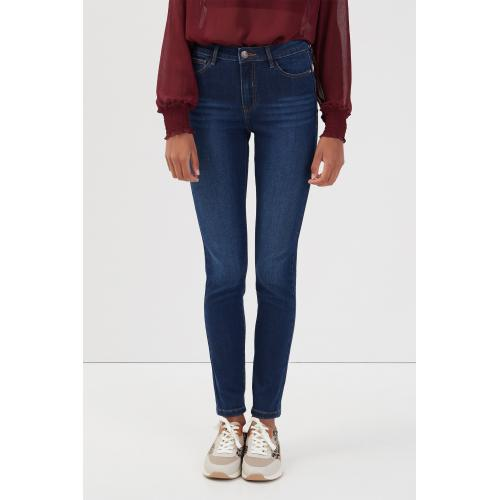 Cache cache - Jeans skinny push-up - Jean femme