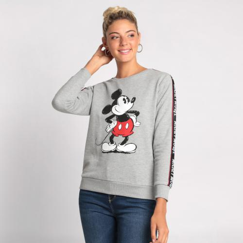 Cache cache - SWEAT MICKEY MANCHES LONGUES - Sweat femme