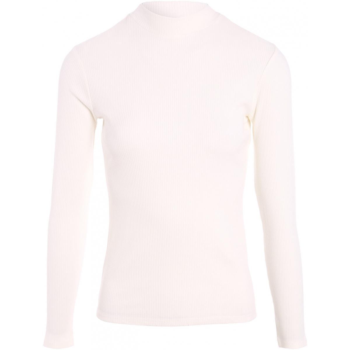 T-shirt maille côtelée - Cache cache - Modalova