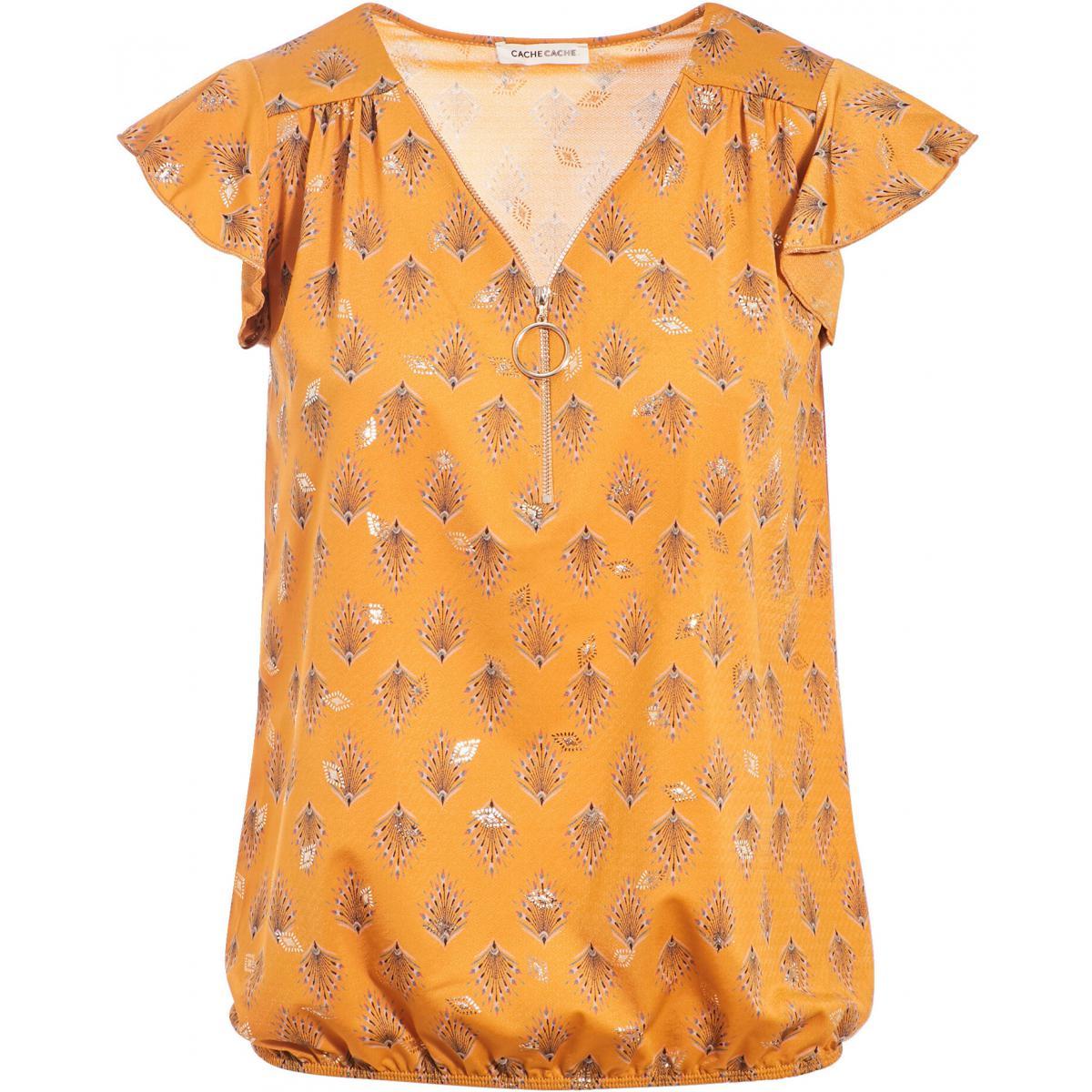 T-shirt manches courtes - Cache cache - Modalova