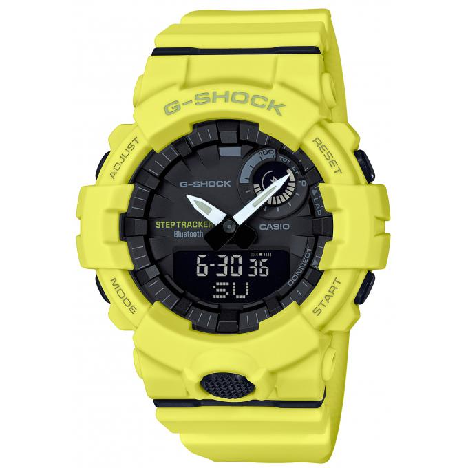 info pour 41b41 86722 Montre Casio GBA_800_9AER - Casio G-Shock Bluetooth Smartphone Jaune HOMME