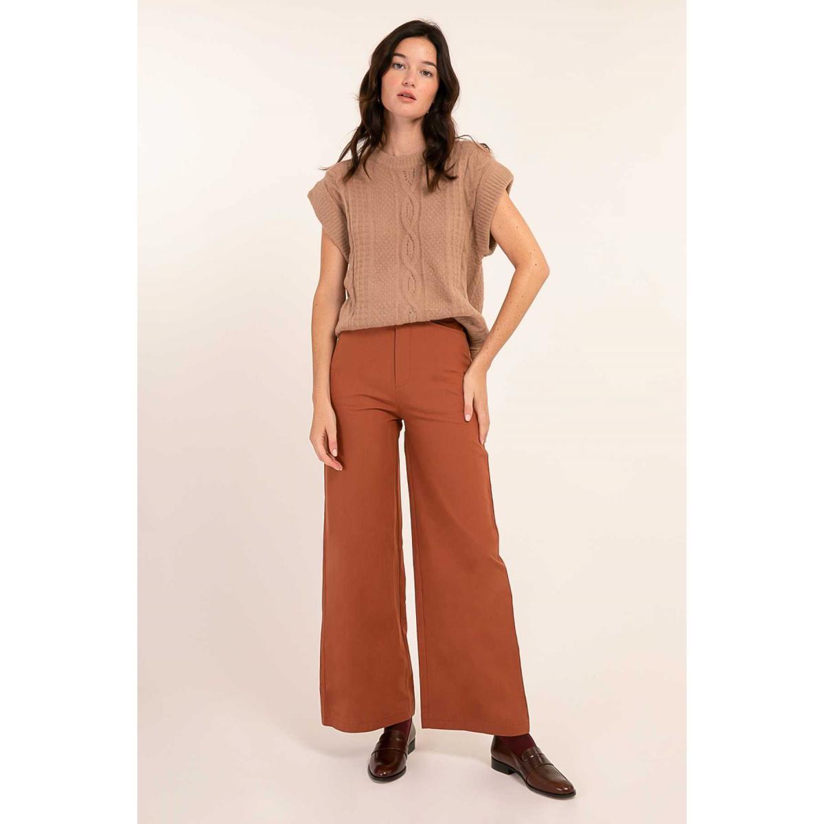 Promo : Pantalon large Jonia - Cherry Paris - Modalova