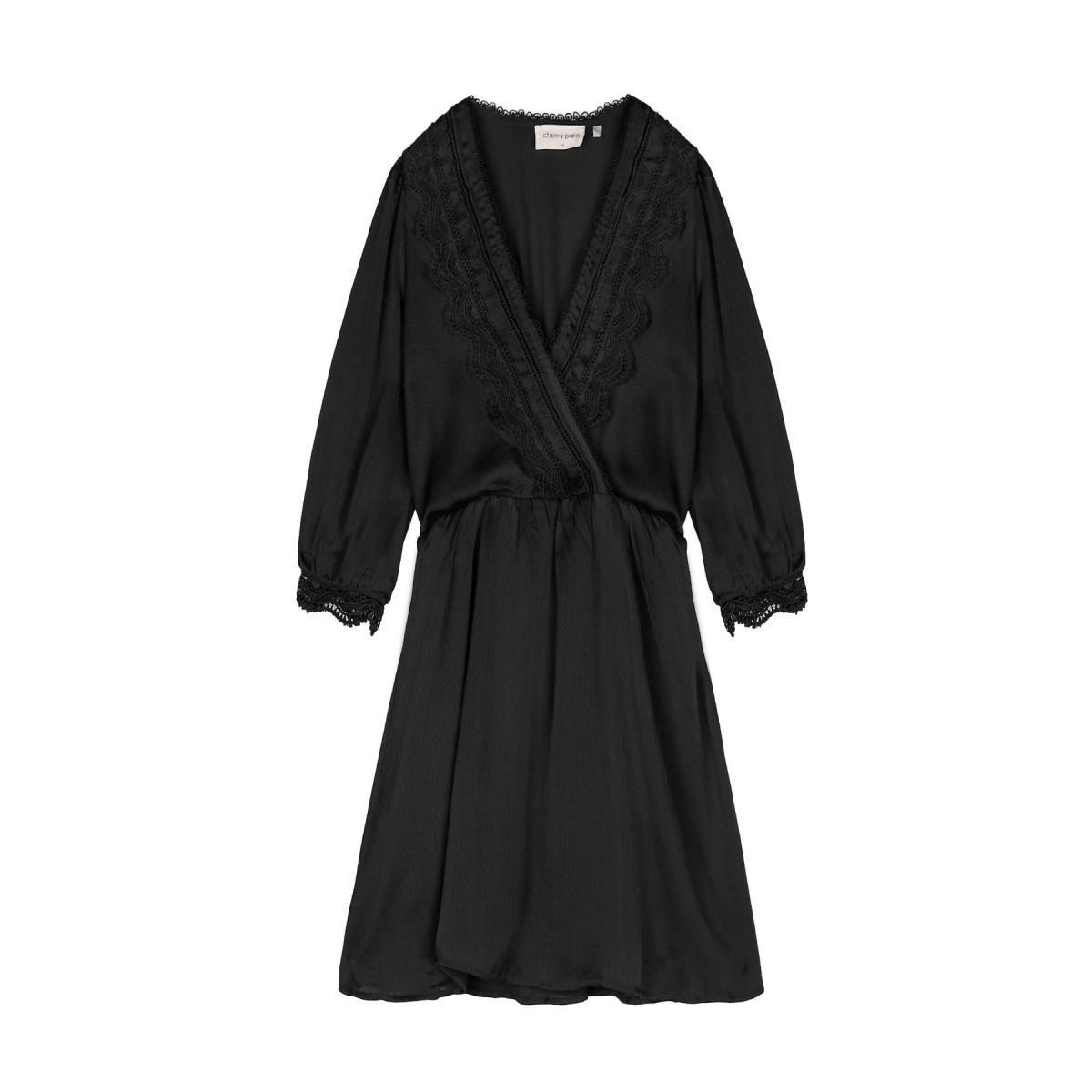 Robe courte femme NOIR
