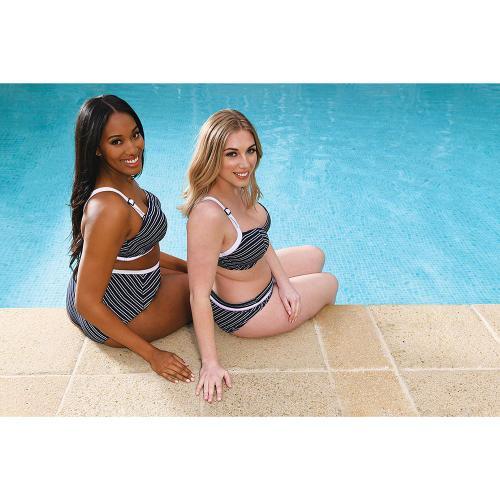 size 7 save up to 80% outlet store Soutien-gorge de bain balconnet armatures bleu Curvy Kate Réf :  CU1161773-3703713