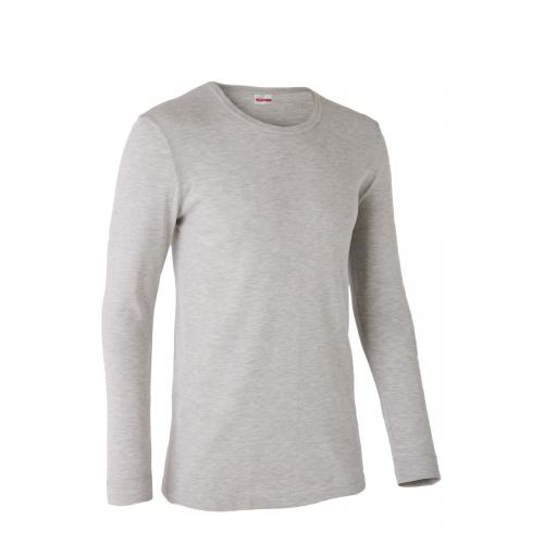 Damart - Tee-shirt col rond, maille interlock. - Damart