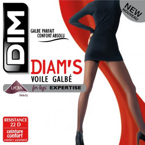 Dim Chaussant - Collant Voile galbe - Chaussant