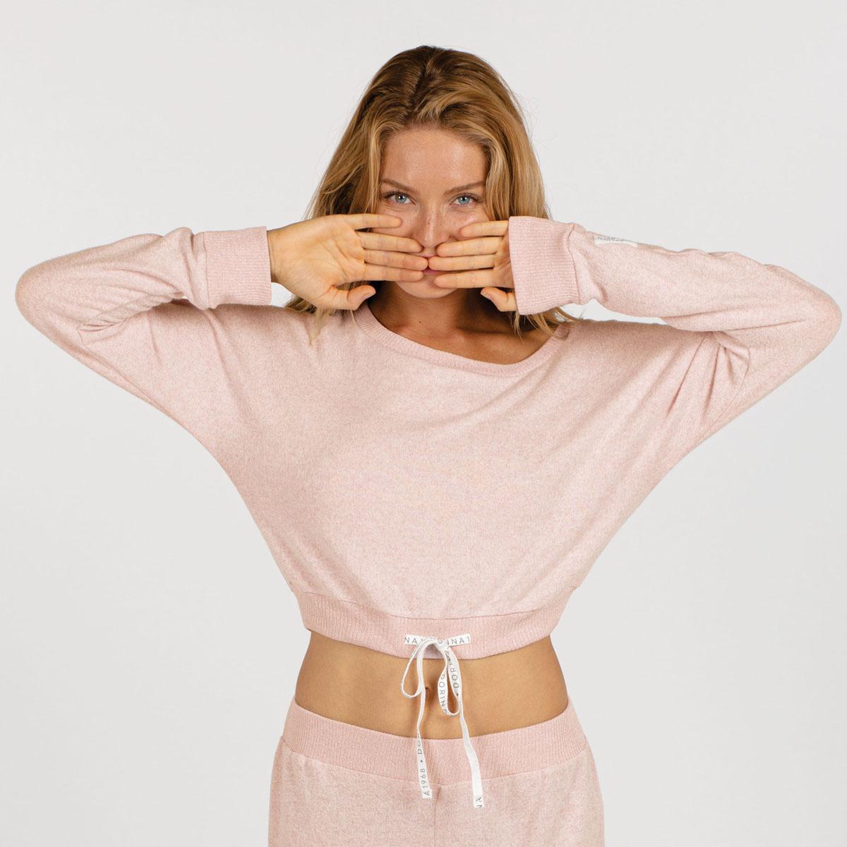 Haut de pyjama rose - 3 suisses - Modalova