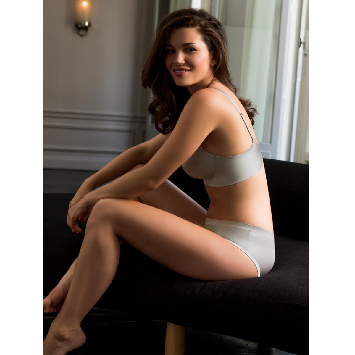 Soutien-gorge push-up sans armatures gris Dorina Lingerie femme 376983e8b78