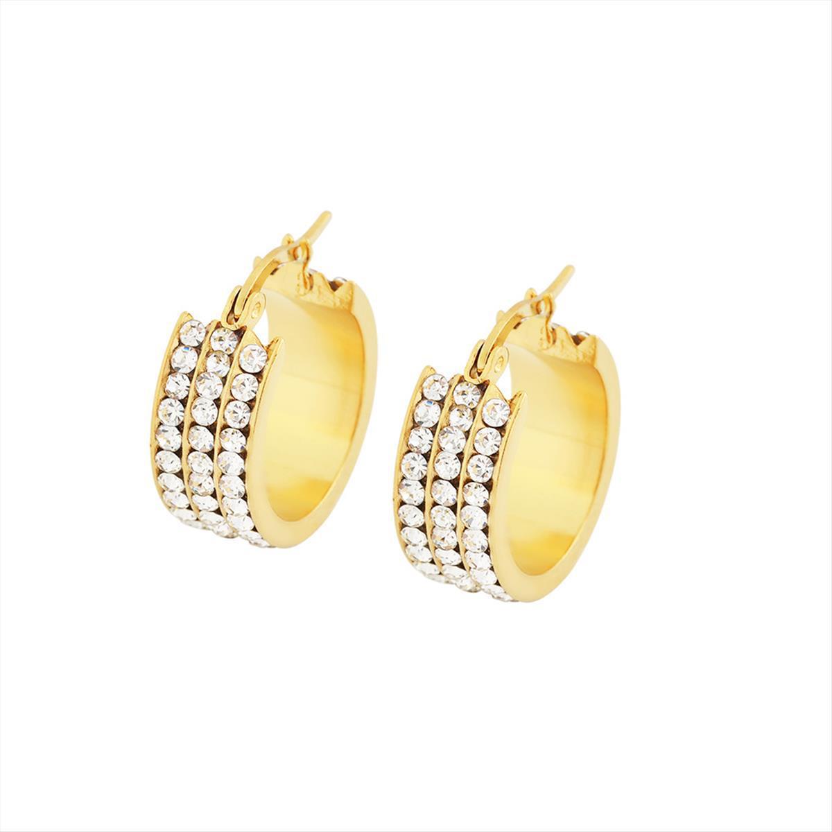 Boucles d'oreilles Edforce - 195-0292-E - Modalova