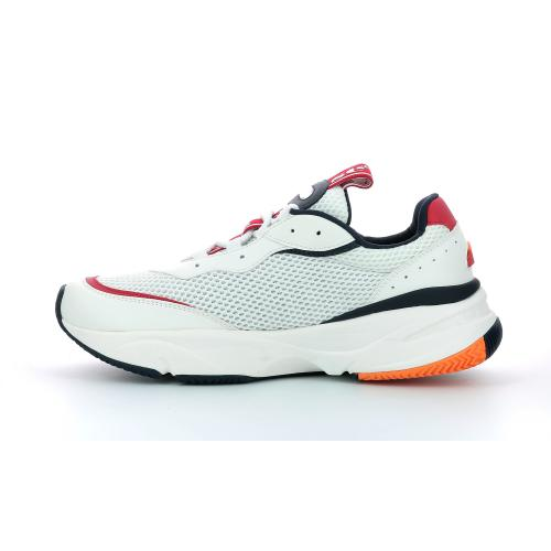 Ellesse - Baskets Massello Text homme blanc