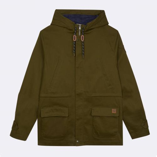 Faguo - COMMANA PARKA COTTON - Manteau / Blouson