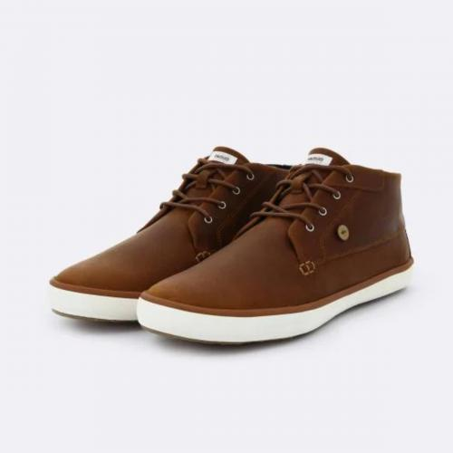Faguo - BASKET WATTLE LEATHER - Chaussures homme