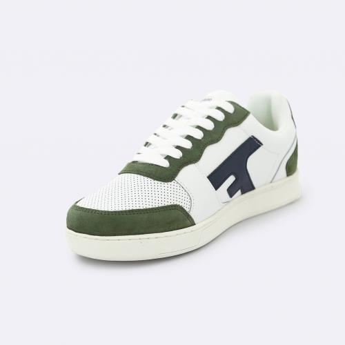 Faguo - HAZEL BASKETS LEATHER SUEDE - Chaussures homme
