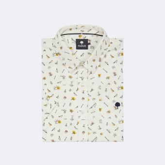 Faguo - VALLON SHIRT COTTON - SOLDES