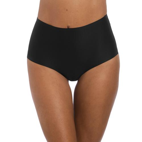 Fantasie - Culotte taille haute invisible stretch noire Fantasie - Culotte, string et tanga