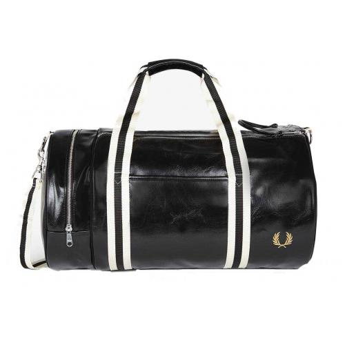 Fred Perry - SAC CANON ZIPPE SPORTY - Porté Main & Epaule - Fred Perry Maroquinerie