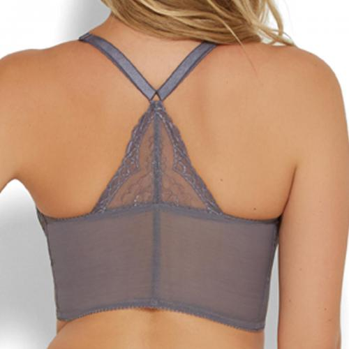 Gossard - Bralette armatures grise - Lingerie sexy