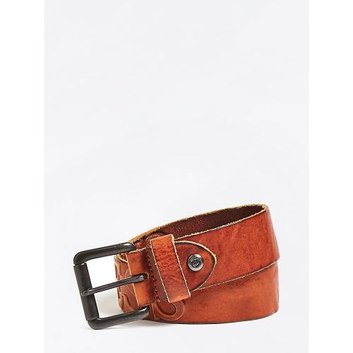 Guess Maroquinerie - CEINTURE AJUSTABLE A BOUCLE G ROND - Guess Maroquinerie