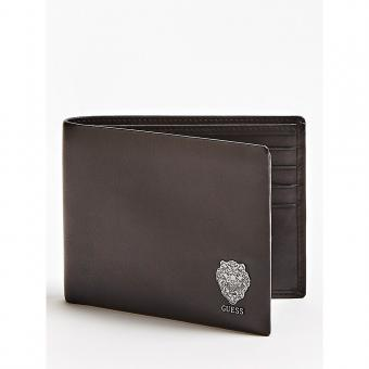 Guess - PORTE FEUILLE LION BOLD - Petite maroquinerie