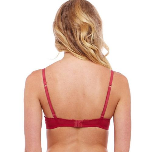 Soutien-Gorge Push-Up Rouge-Rose Iconic