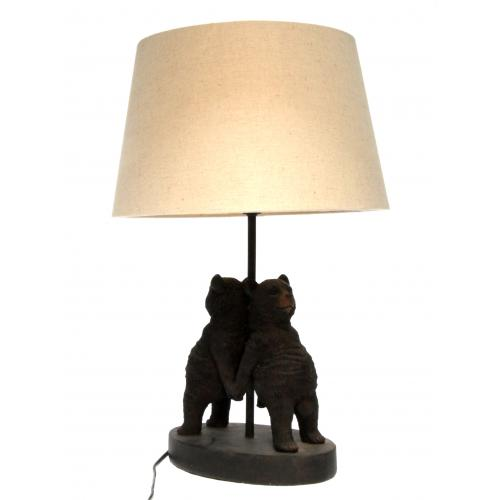 Chehoma - Lampe Ours Dos A Dos - Lampe