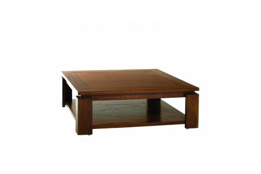 Macabane - Table basse sous plateau 90x90 MILLY - Table basse