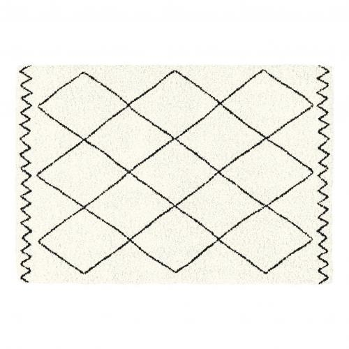 3S. x Home - Tapis Rectangle 120 x 170 cm SAOURA Beige - Tapis