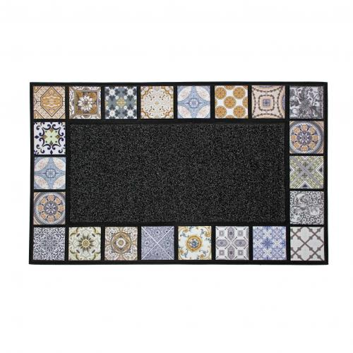 3S. x Home - Tapis Rectangle 45 x 75 cm Relief Ceramiko - Tapis
