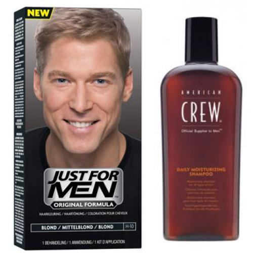 Just for Men - COLORATION CHEVEUX & SHAMPOING Blond - PACK - Coloration cheveux