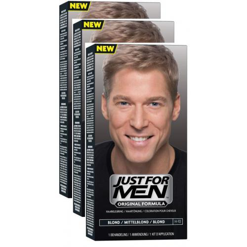 Just for Men - COLORATIONS CHEVEUX Blond - PACK 3 - Coloration cheveux